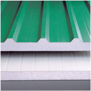 Metal Eps Sandwich Panel Roof Tiles Metal Eps Sandwich