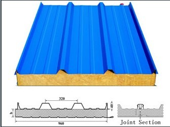 Product Roof Tiles Metal Eps Sandwich Roof Wall Panels
