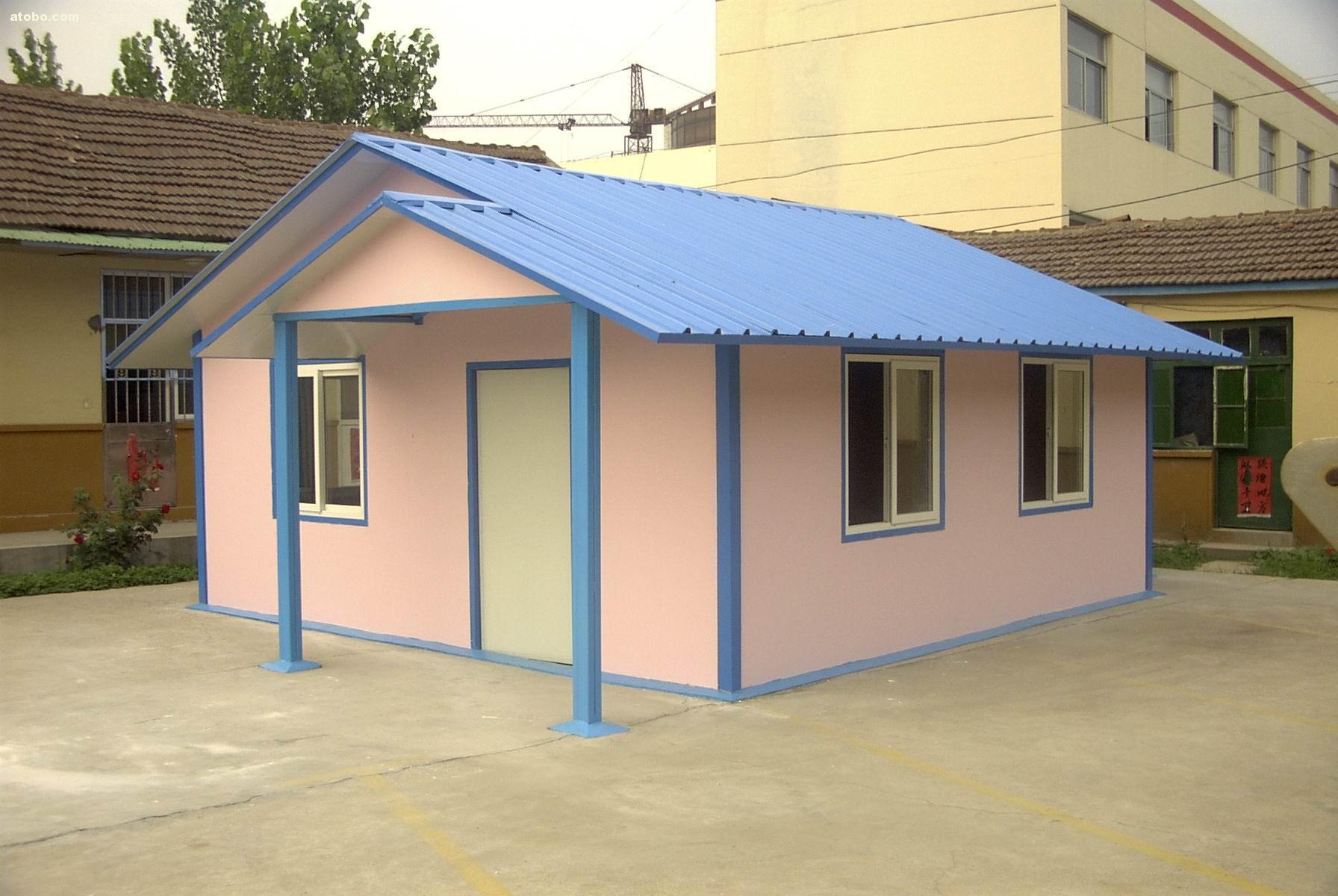 Prefabricated House Roof Tiles Wall Panels House Siding