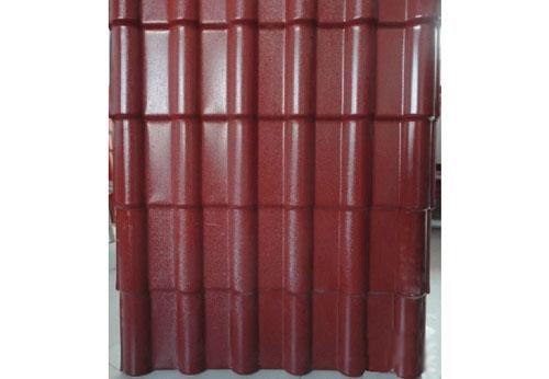 脂瓦880型 PVC外墙装饰挂板,合成树脂瓦,彩石金属瓦,玻纤图片